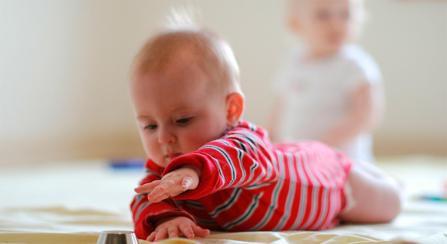 Educação do bebê abordagem Pikler